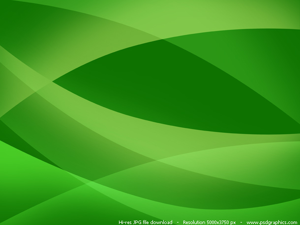 green layout background
