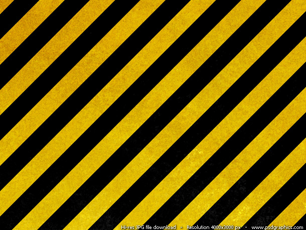 hazard stripes texture
