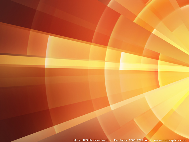 Abstract Orange Fire Rings Background Psdgraphics