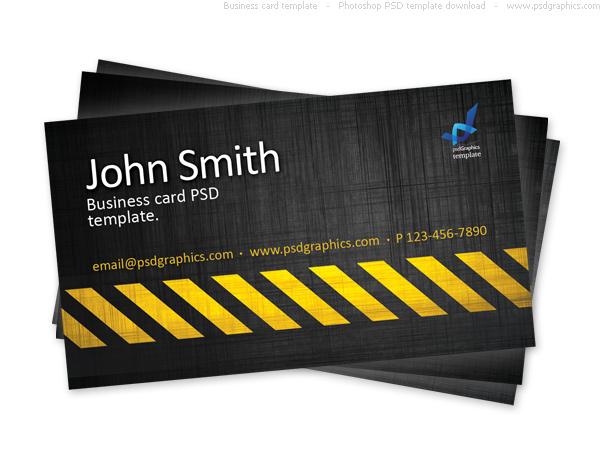 hazard business card