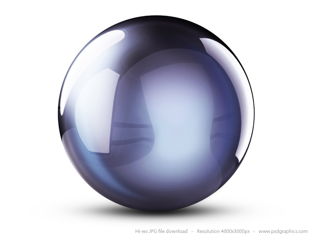 Colorful 3d Crystal Balls Psdgraphics
