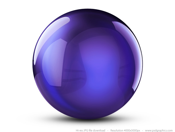 violet crystal ball