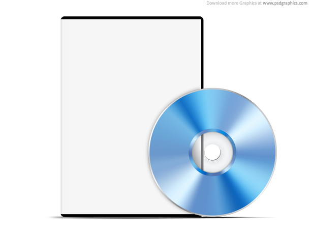 DVD PSD web template 20 Free CD & DVD Cases PSD Templates