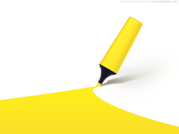 highlighter background