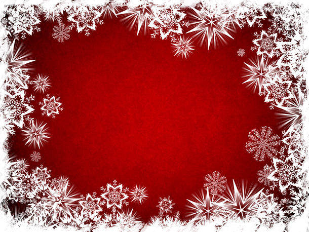 Abstract Christmas background with a blank space for message or images