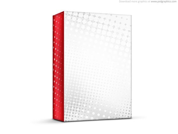 red white box