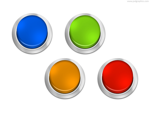 colorful buttons templates