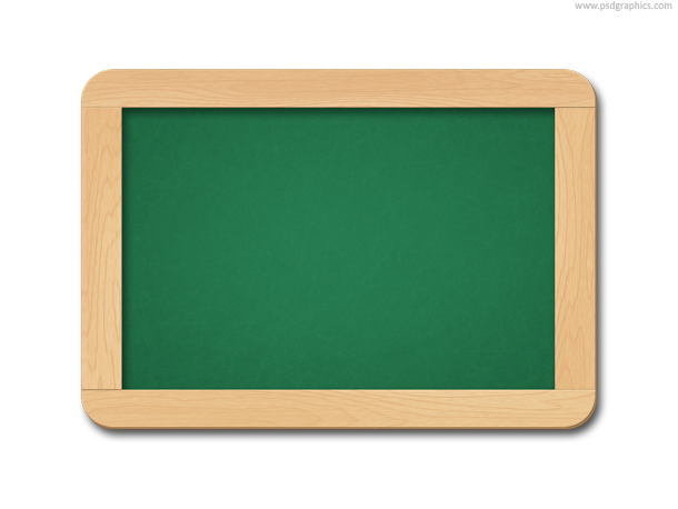 chalkboard chalk brush