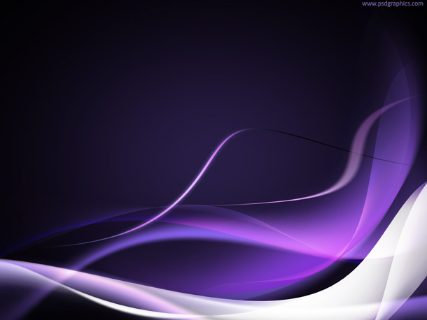 purple waves background