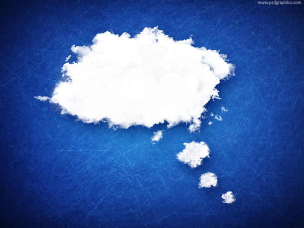 bubble cloud background