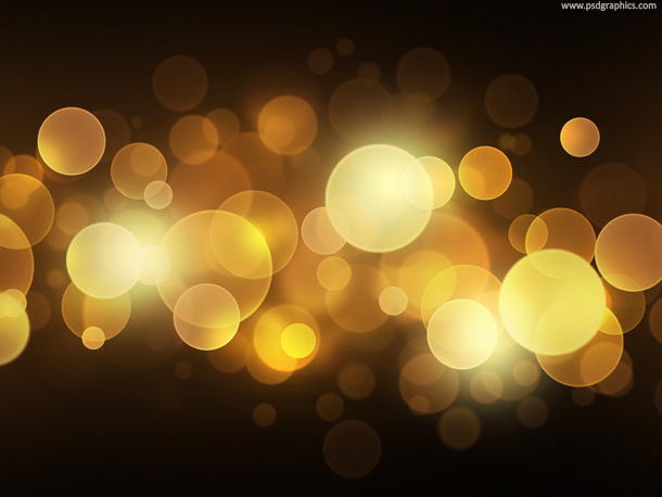 fire bokeh background