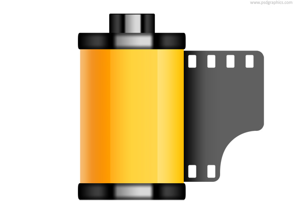 old film roll icon