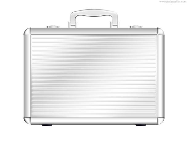 PSD black briefcase icon | PSDGraphics
