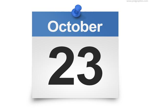 Daily Calendar Psd Template | Psdgraphics