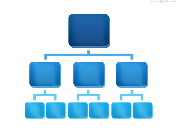 organization chart icon psd psdgraphics