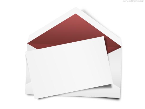envelope note