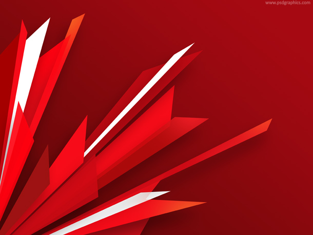 red burst background