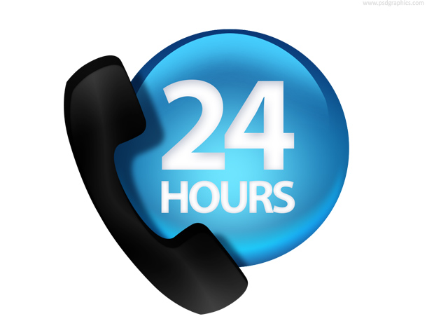 24 hours customer service
