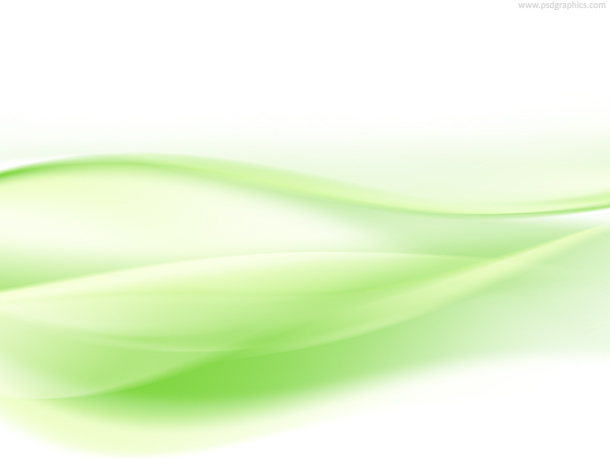 Light green waves, abstract background design
