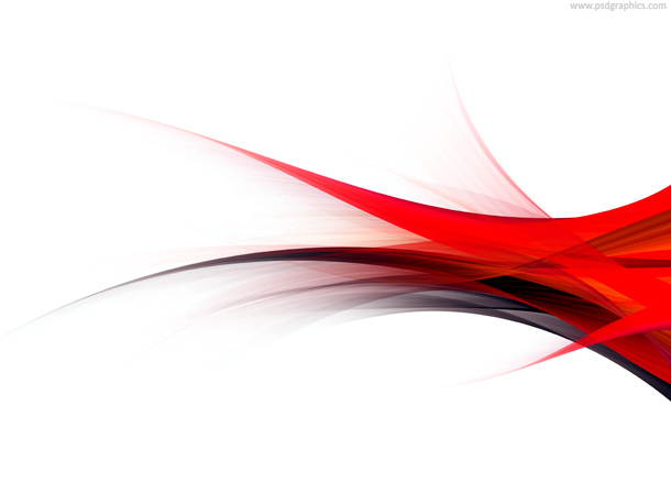 Red flow background, modern flowing design