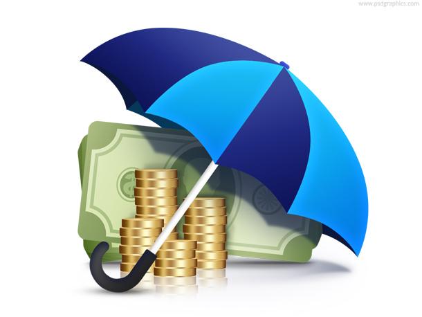 Financial guarantee, currency under umbrella