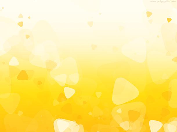 Yellow shapes design