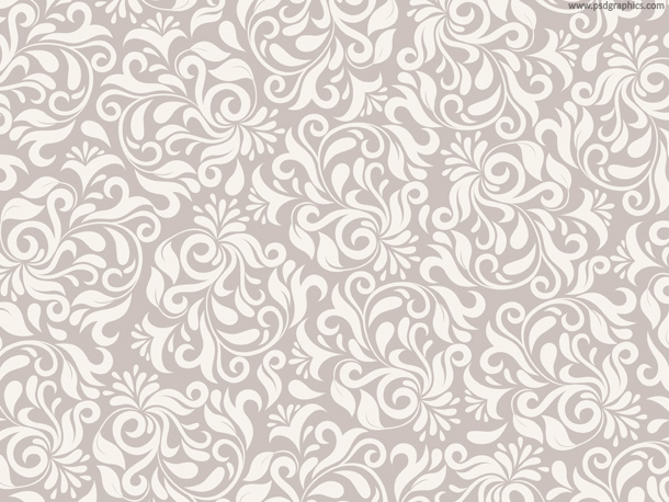 Black And White Floral Pattern Wallpaper: Floral Frame Template (PNG)
