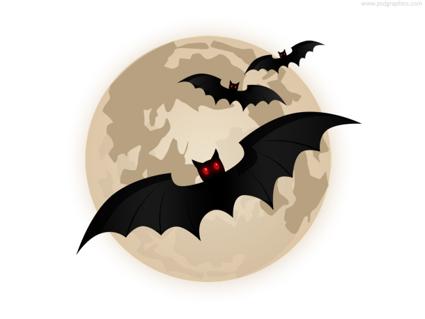 Flying bats icon