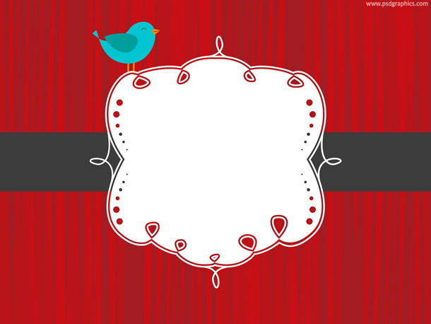 Red social banner template (PSD) | PSDGraphics