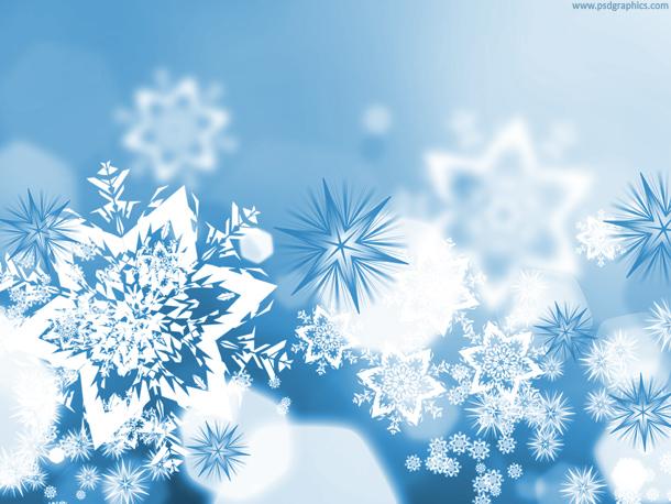 Xmas snowflakes