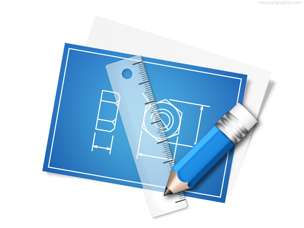 Blueprint icon psd psdgraphics blueprint malvernweather