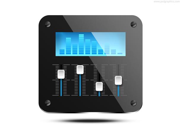 Sound mixer PSD