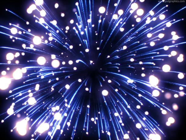 Inside firework