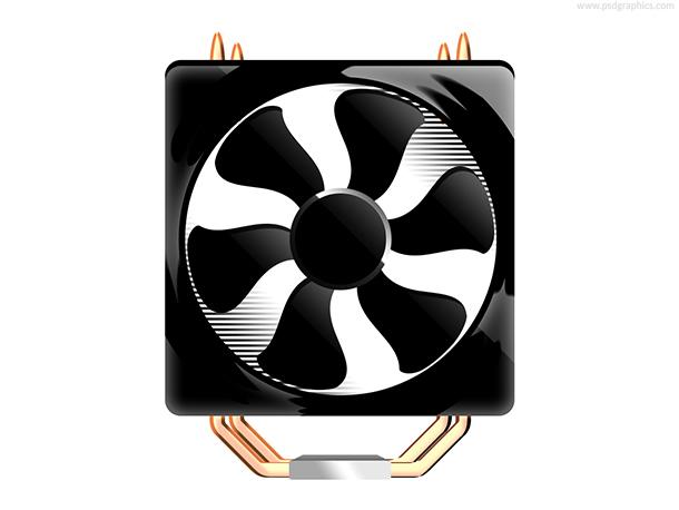 Computer fan PSD
