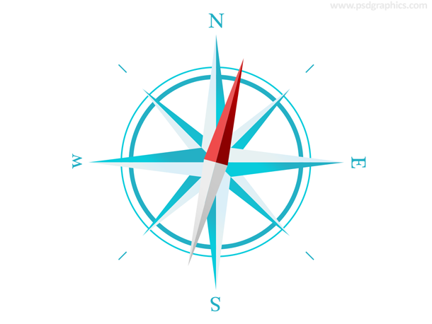 Simple compass PSD