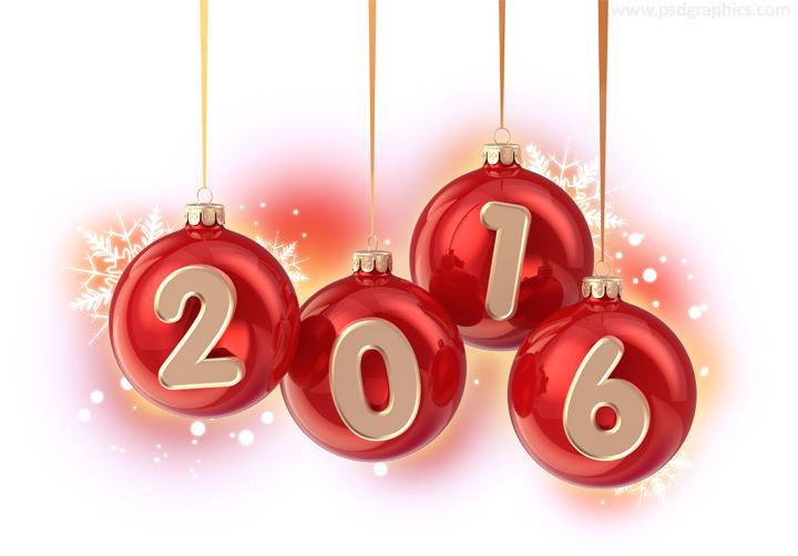 2016 Christmas balls