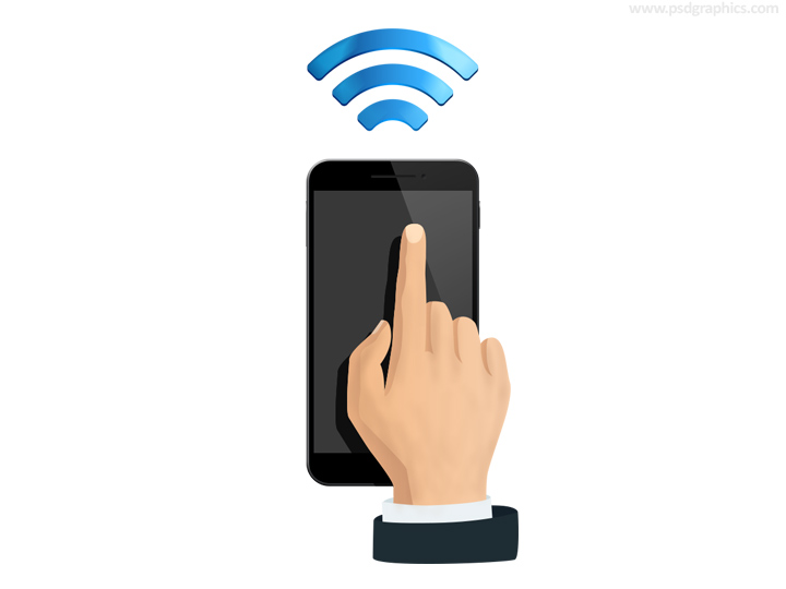 Wifi remote icon