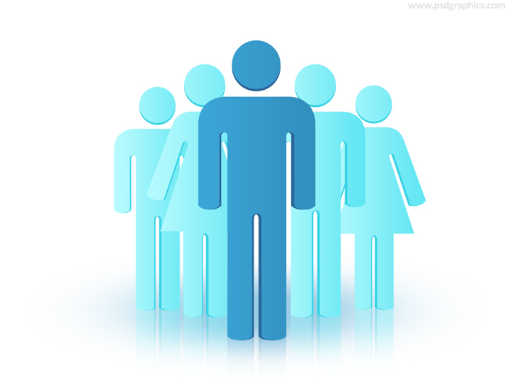 Group Of People Business Illustration Psd