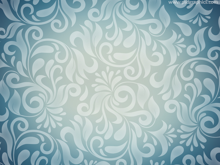 Floral retro patterns
