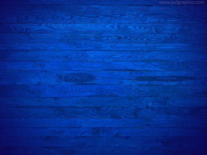 Retro blue wood