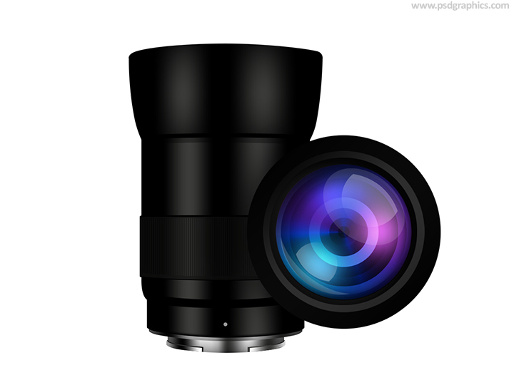 Mirrorless lens icon