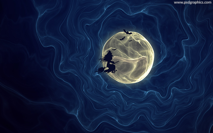 halloween moon wallpaper - photo #17