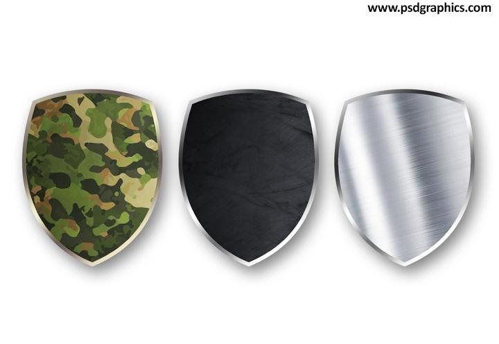 Blank shields