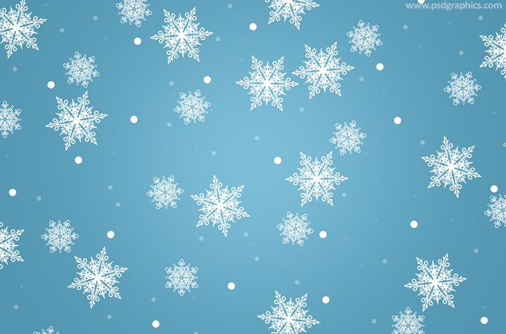 Light blue winter pattern