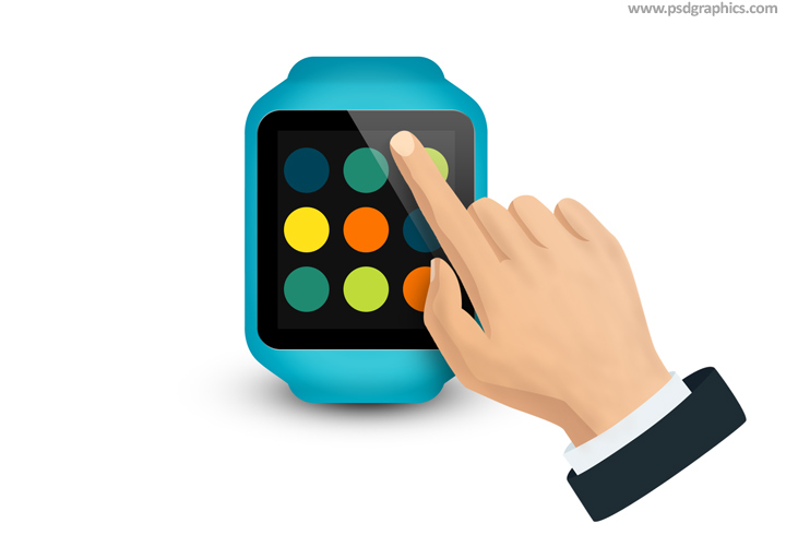 Smartwatch PSD template