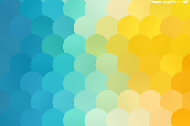 Sea dots pattern
