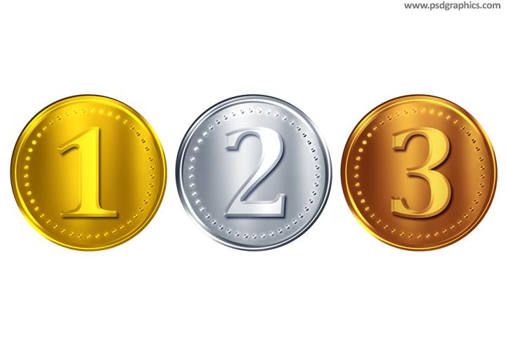 Coins PSD