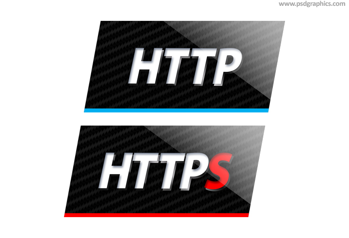 HTTP and HTTPS icons