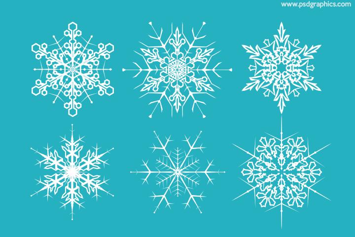 Creative snowflakes