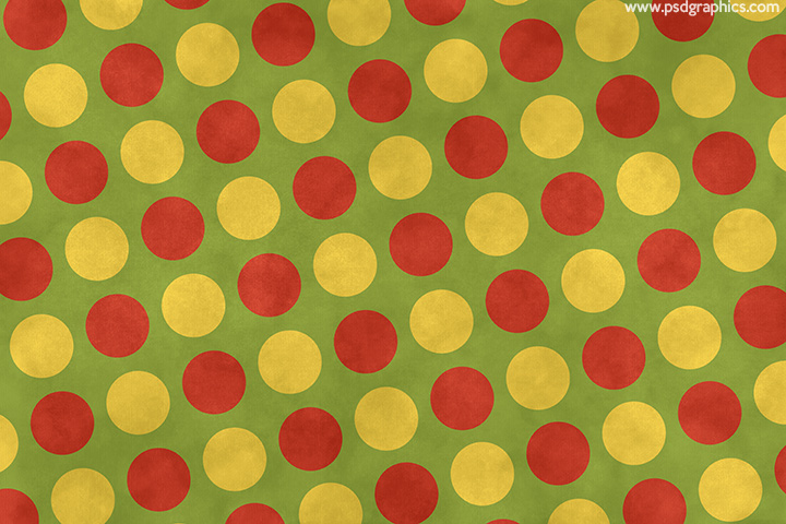 Dotted Christmas paper